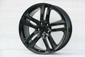 18 X8 Hfp Gloss Black Sport Rims Wheels Fits Honda Civic Accord Crv Tsx Tlx Si