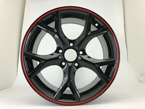4pc 18 Black Gloss Type R Style Rims Wheels Fits Honda Civic Accord Si Crv Tsx