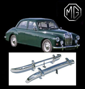 Brand New Mg Magnette Stainless Steel Bumpers