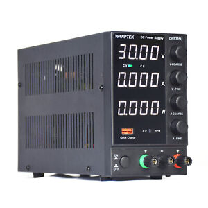 Bench Power Supply Variable 0 30v 0 5a Adjustable Switching Regulated 110v