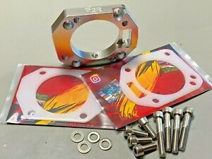 P2r Rbc Spacer Adapter 70mm rsx Tb On Rbc Intake Manifold Thermal Gaskets