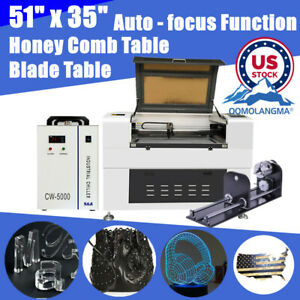 Usa 150w 51 X 35 1390 Luxury Laser Engraving With Rotary Axis And Double Table