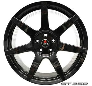 20 Project 6gr 7 Gloss Black Wheels Ford Boss 302 Mustang S197 S550 Gt Ecoboost