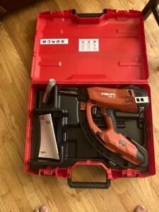 Hilti Gx 3 Gas Powered Actuated Tool Fastener With Case 45682 New