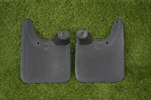 95 00 Toyota Tacoma 2wd Front Right Left Mud Flaps Splash Guard Pair 5 Lug