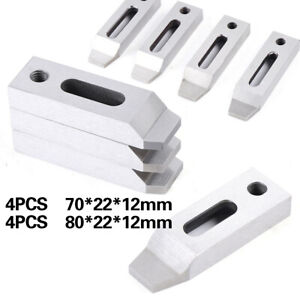 4x Sus 40 Stainless Cnc Wire Edm Jig Holder For Wire Edm Machine Clamping M8