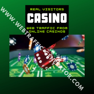 sale 1 Month Visitors From Popular Online Casino Platforms To Your Website