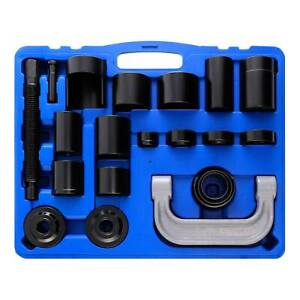 21pcs Auto Repair Service Removal Ball Joint Press Tool Master Adapter Kit 2amp4wd