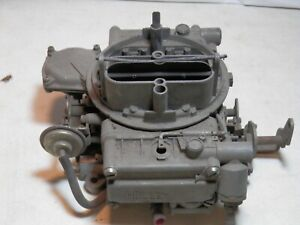 1970 1972 Dodge 383 440 Holley 4 Barrel Carburetor 4368 Rough For Parts