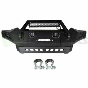 For Toyota Tacoma 2005 2015 Offroad Full Width Front Bumper Assembly W Lights