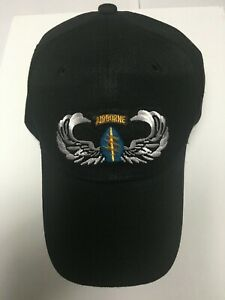 US ARMY SPECIAL FORCES AIRBORNE WINGS MILITARY HAT CAP $12.71