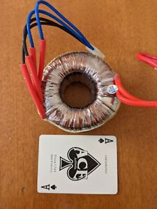 Toroidal Ring Transformer 110vac Pri 12 24v Secondaries