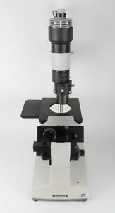 Olympus Im Inverted Laboratory Microscope 2 Oculars 3 Objectives