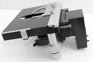 Leitz Wetzlar Objecttable With Condenserholder For Dialux 20eb And Similar Mics
