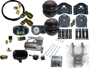 Towing Air Bag Kit Bolt On 2019 2021 Chevy 1500 Leveling Compressor Gauge 1gtank