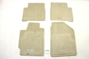 New Oem Nissan Altima Tan Carpeted Floor Mats 2002 2006 999e2 Up000bd 4 Pc Nos