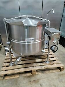 Cleveland 60 Gallon Tilting Natural Gas Steam Jacketed Kettle Kgl60t Look