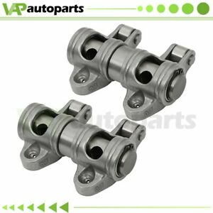 For Chevy Sbc 350 1 6 Ratio 3 8 Shaft Mount Stainless Steel Roller Rocker Arms