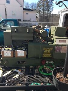 Onan Military 12kw Diesel Generator Mep 003a 115 Hours All Option Synthetic Fuel