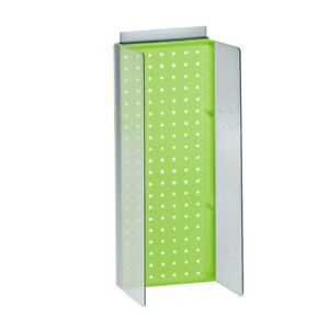 Pegboard Powerwing Display In Green 8 W X 20 625 H Inches
