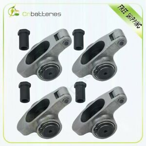 For Small Block Chevy 1 5 3 8 Stainless Steel Roller Rocker Arms Sbc 305 350 400