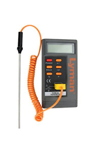 Lyman Digital Lead Thermometer with 6 K Type Probe # 2867797 New quot; $41.70