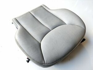 03 06 Mercedes R230 Sl500 Front Left Or Right Bottom Lower Seat Cushion Gray Oem