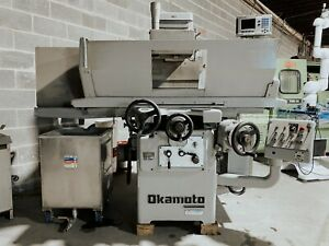 Okamoto 820a Reciprocating Surface Grinder Used