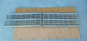 1946 1947 48 Chrysler Front Grill Left Right New Yorker Town Country Highlander
