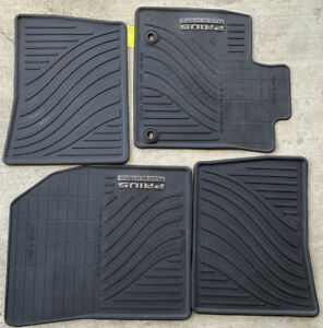 Genuine Toyota Prius Plug In 2013 All Weather Rubber Floor Mats