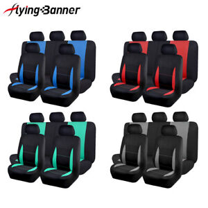 Car Seat Covers Universal Set Split 40 60 50 50 Truck Van Suv Airbag Compatible