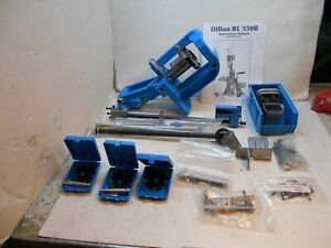 Dillon RL 550 B reloading press with extras $675.00