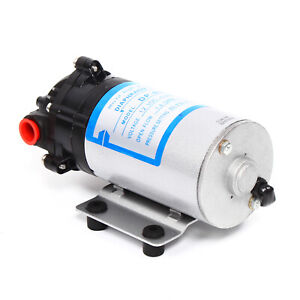 New 12v 60psi Self Priming Diaphragm Micro High Pressure Diaphragm Pump 1200rpm