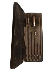Moore Wright M w And Inside Depth Gauge Imperial Micrometer Set With Case