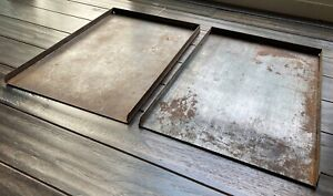 Galley Trays For Letterpress Typesetting 13 x9 Vintage Printing Equipment