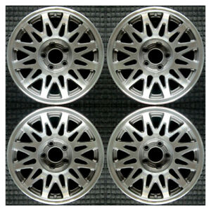 Set 1998 1999 2000 2001 2002 Lincoln Town Car Oem 16 Charcoal Wheels Rims 3364