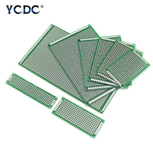 Prototyping Pcb Circuit Board Single Double sided Tinned Breadboard For Diy F57