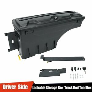 For 2015 20 Chevy Colorado Gmc Canyon Driver Side Truck Bed Storage Box Toolbox