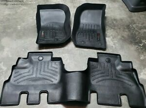 Weathertech Floorliner Mat Set For Jeep Wrangler Unlimited 2014 2018 Black