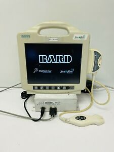 Bard Site Rite 6 9770066 Ultrasound Machine W 9770001 Probe Battery Charger