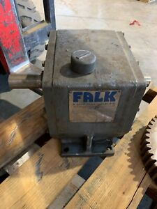 Used Falk Enclosed Gear Drive 11 54 1 Ratio Speed Reducer 1030f 2a