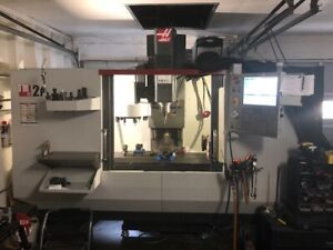 Used 2015 Haas Tm 2p Cnc Tool Room Vertical Machining Center Toolroom Mill Wips