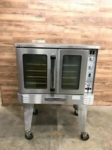 2016 Southbend Slgs 12sc Single Deck Full Size Convection Oven Natural Gas 120 V