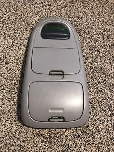 1997 2003 Ford F 150 Expedition Overhead Console Digital Display Oem Gray Grey
