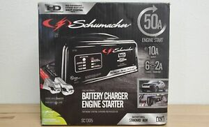 Schumacher Sc1305 Automatic Battery Charger 10a Boost 50a Engine Starter