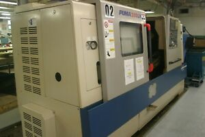 2007 Doosan Puma Lathe 280lm W Live Tooling 1 558 Hours Total Cutting Time