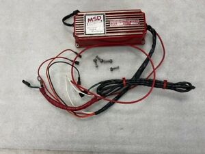 Msd 6a Ignition Box 6200 Multiple Spark Discharge Used Working