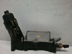2013 2018 Jeep Grand Cherokee Oil Filter Housing Adapter And Cooler 68310865ab