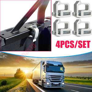 4 For Tite Lok Truck Cap Topper Camper Shell Mounting Clamps Heavy Duty Aluminum