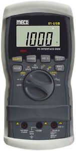 Meco Digital 81 Usb Multimeter With Pc Interface Data Logging z6h